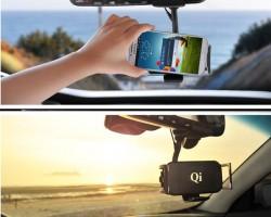 Бездротове зарядний пристрій для мобільного в авто