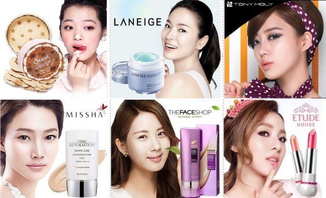 Корейская косметика купить оптом в корее